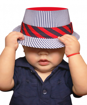 PNGPIX-COM-Cute-Baby-with-Hat-PNG-Image